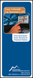 Colorado Auto Insurance brochure